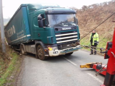 CAMION EMBOURBE