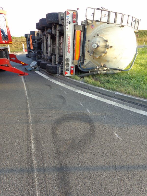 accident camion le parcq