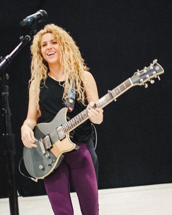 Shakira se prépare pour sa tournée