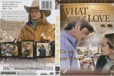Ce qu'on fait par amour... / What I Did for Love 2006