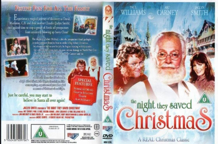 sos pere noella nuit o on a sauv le pre nol - The Night They Saved Christmas Dvd