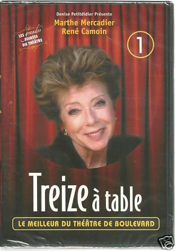 TREIZE A TABLE(pièce de théatre)