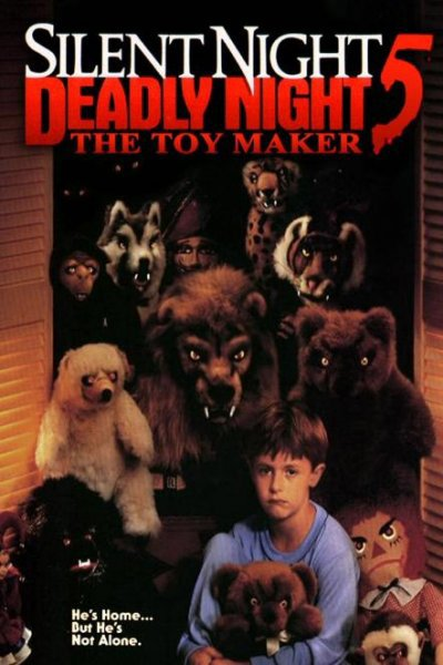 DOUCE NUIT SANGLANTE NUIT 5-Deadly Night 5 The toy maker 1992