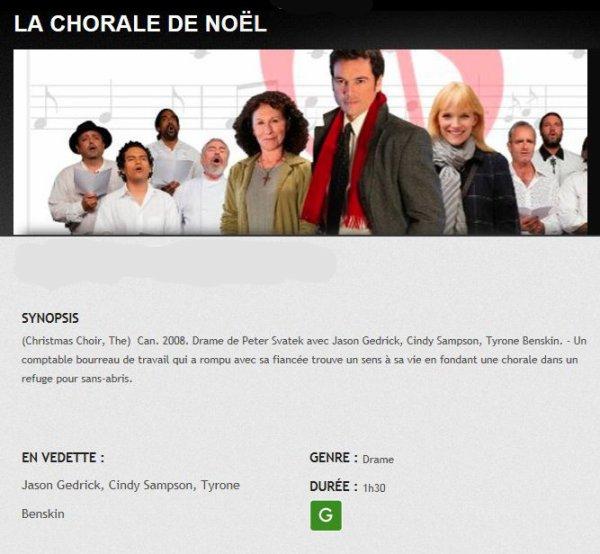 LA CHORALE DE NOEL