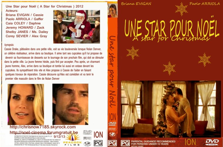 Une star pour Noël/A star for Chrstmas 2012