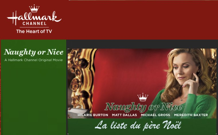 La liste du Père Noël/ Naughty or nice-2012