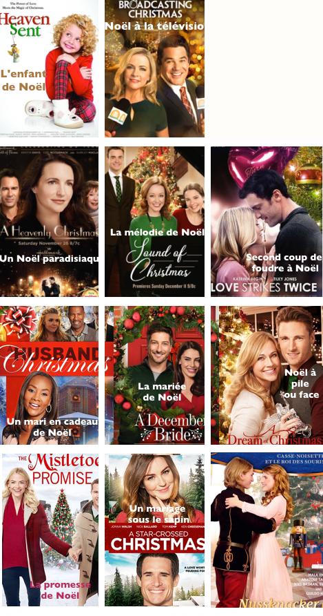 Les téléfilms passé à Noël  2017/2018....