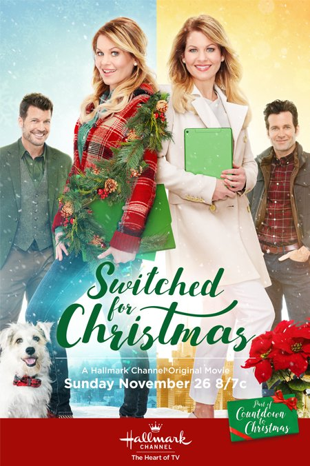Switched for Christmas Hallmark 2017