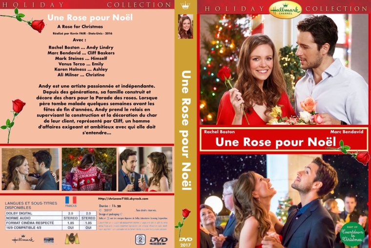 UNE ROSE POUR NOËL /  A Rose for Christmas 2017