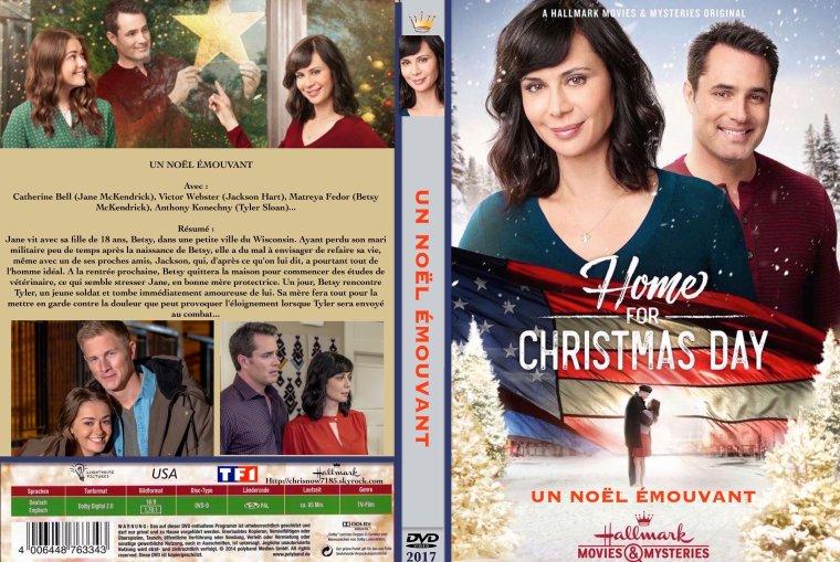 UN NOËL ÉMOUVANT  /  Home for Christmas Day 2017 Hallmark Movies & Mysteries