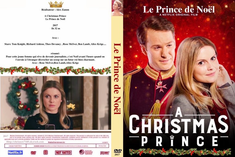 Le prince de Noël / A Christmas Prince 2017