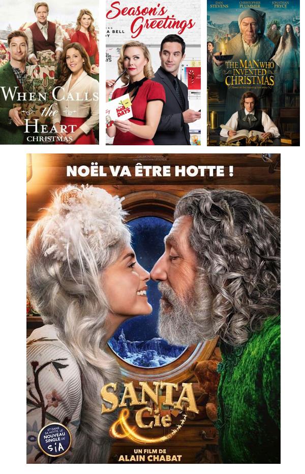 Les téléfilms passé à Noël -Affiche/cover ( 2018)...