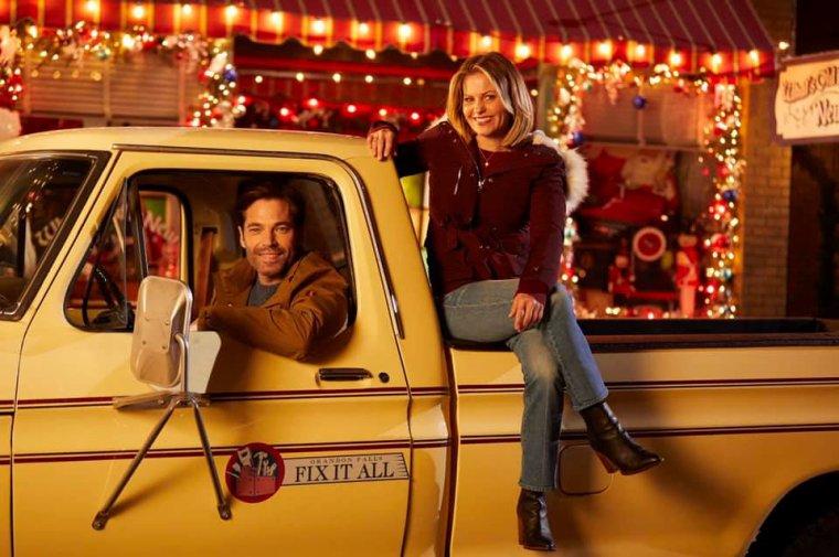 Fin du tournage du 8eme film de Noël de Candace C Bure ...