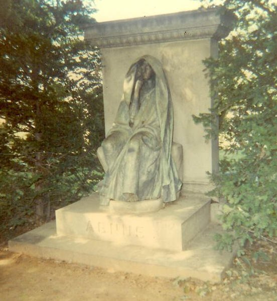 BLACK AGGIE The Haunted History of One of America's Most Mysterious Graveyard Monuments by Troy Taylor