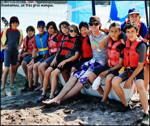 Notre bande de catamaran <3 .