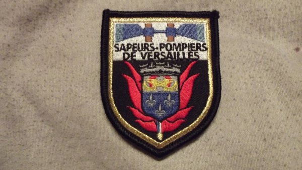 écusson des pompiers de Versailles