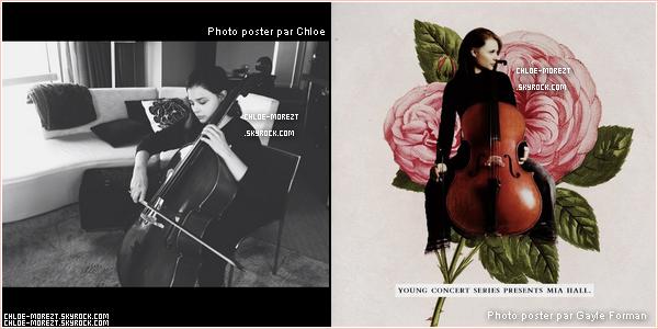 """▬ Le 15/07/13 ▬ Chloe était sur le tournage de '' The Equalizer """" . + deux photos personelles ."""