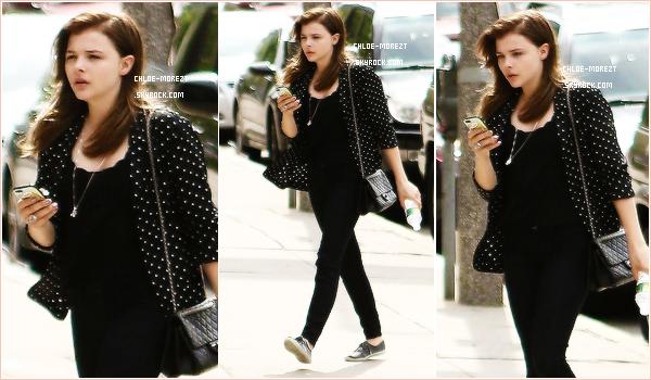 """▬ Le 19/07 Chloe était sur le tournage de '' The Equalizer """" à Boston !"""