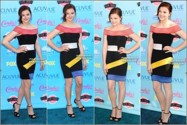 11/08- Chloe était présente au Teen Choice award !