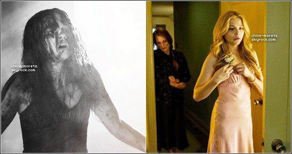 Découvrez de nouveaux stills de '' Carrie ( la vengeance ) '' + Une nouvel photo personelle .