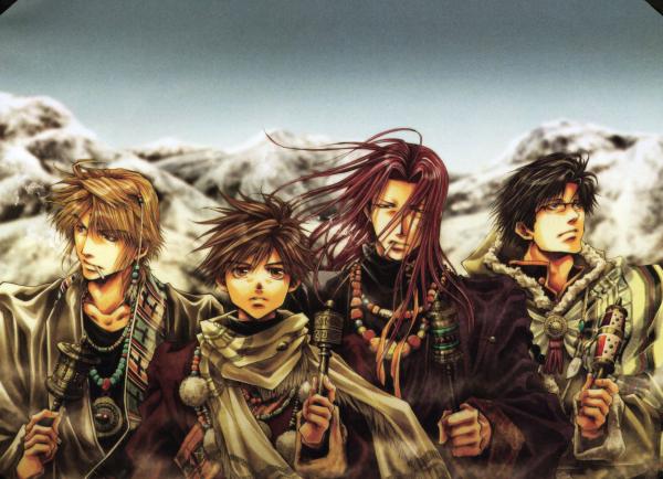 Saiyuki - L'Extrême Voyage vers l'Ouest