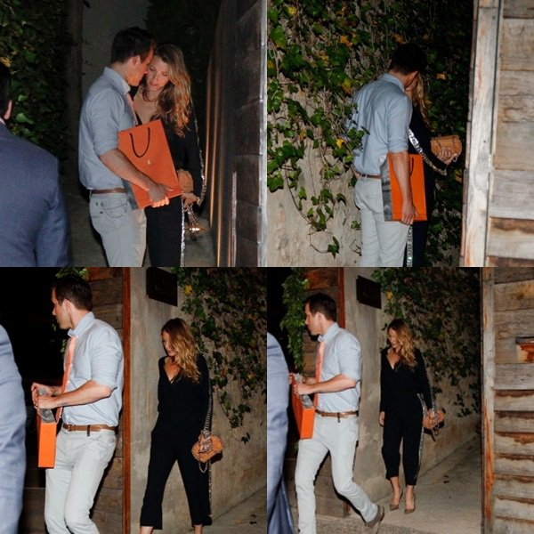 ϟ25/07: Blake et son mari était en Espagne.