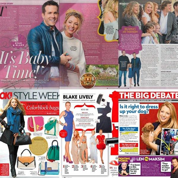 ϟ Blake est en couverture de trois magasines. Qu'elle couverture préfères-tu ?