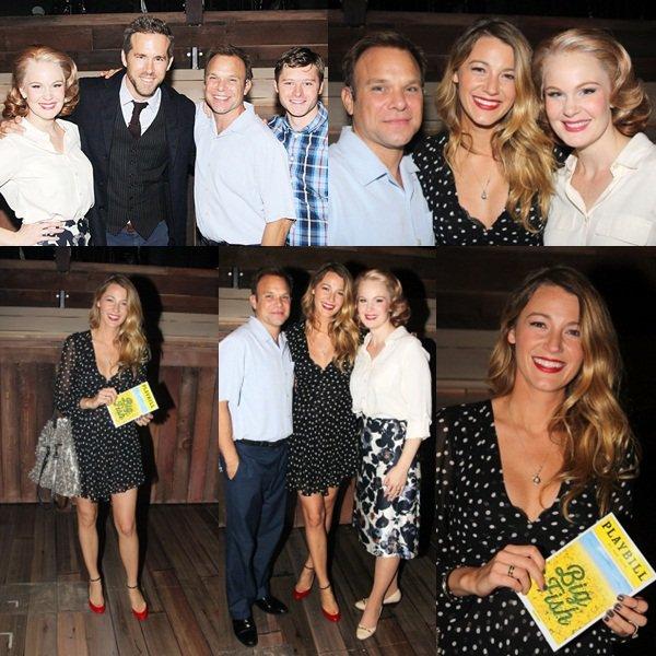 ϟ Event 6/09 : Blake et Ryan étaient à l'avant première de Big Fish (comedie musicale)au théâtre Neil Simon à Broadway. Flop pour sa tenue. Vos avis ?