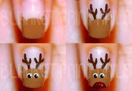 Des Nail Art spécial Noël!
