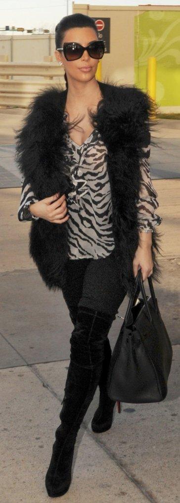 Style: Kim Kardashian 1O