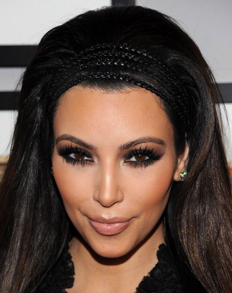 Maquillage: Kim Kardashian O1