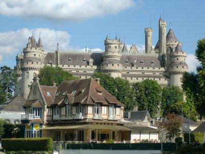 virée au chateau de PIERREFONDS.