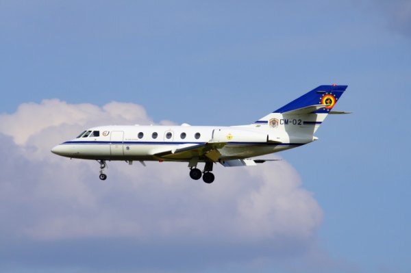 BELGIAN AIR FORCE  FALCON 20E-05  CM-02