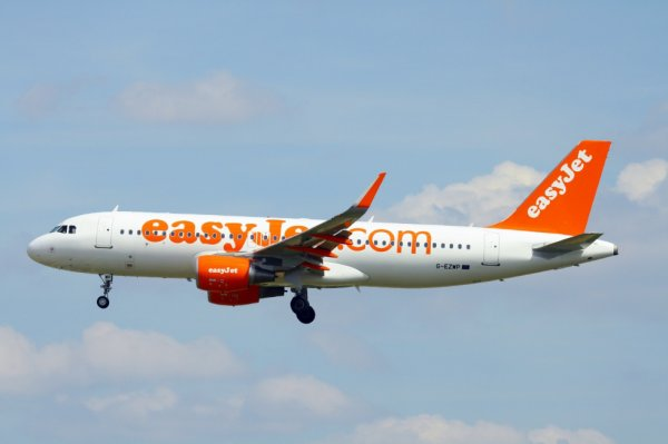 EASYJET AIRLINES  AIRBUS A320-200  G-EZWP