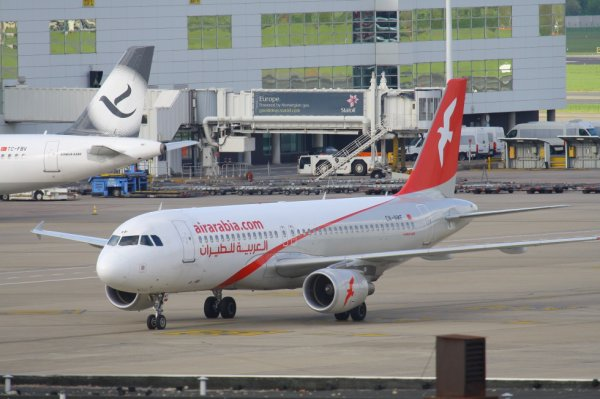 AIR ARABIA  AIRBUS A320-200  CN-NMF