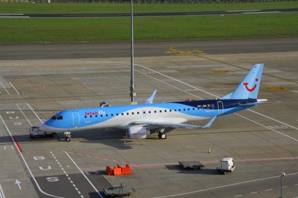 JETAIRFLY  ERJ-190-100  OO-JVA