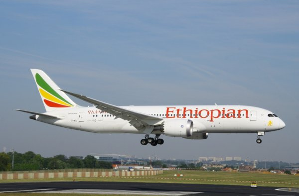 ETHIOPIAN  BOEING 787-8 Dreamliner  ET-AOU