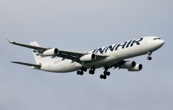 FINNAIR  AIRBUS A340-300  OH-LQB