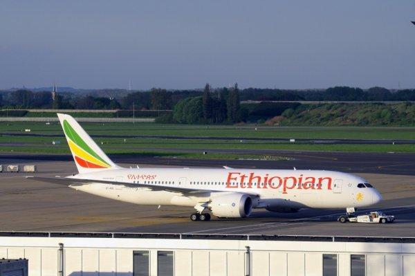 ETHIOPIAN  BOEING 787-8 dreamliner  ET-ASG