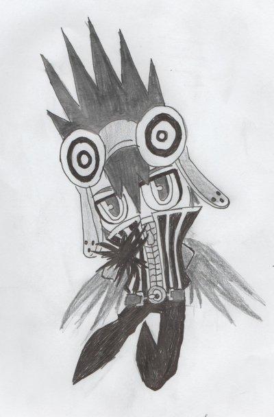 j'ai dessiner plein de chibi CROW
