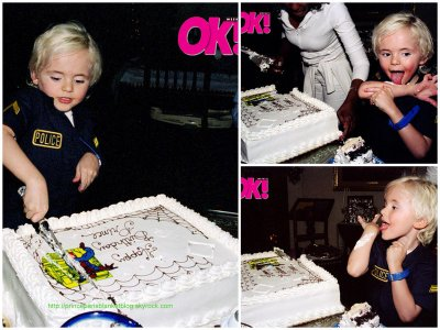 Groovy Ok Magazine Exclusive Photos Michael Jacksons Kids Have Fun At Funny Birthday Cards Online Barepcheapnameinfo