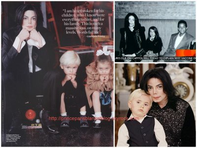Mix photos- Michael with the kids