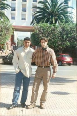 brahim abernous and my  friend live in germany  photo in city  of rabat