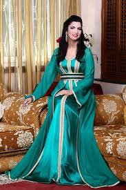 Kaftan, women's dress beautiful Morocco