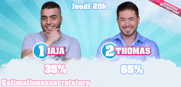 ESTIMATIONS -  Nomination N°5 : Jaja / Thomas