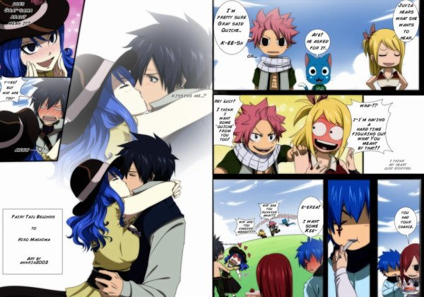 gruvia week did you just say quiche