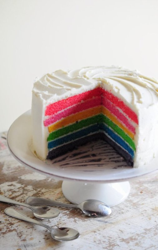 """ Rainbow Cake """