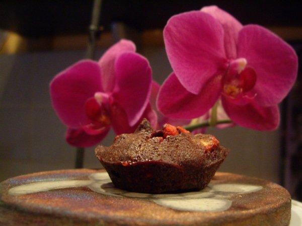 """"""" Financiers aux Pralines Roses & Chocolat """""""