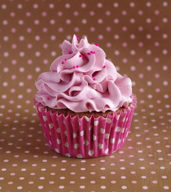 """ Cupcakes Framboise & Violette """