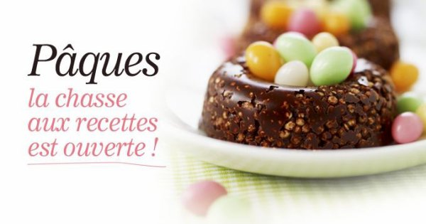 "Tarte Fondante au Chocolat Noir ( Recette Spécial Pâque ) """